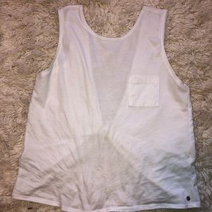 Fabletics open back Tank, Size Small